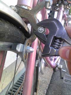 自転車の リム 自転車 ゴム : 自転車の前輪ブレーキ調整方法